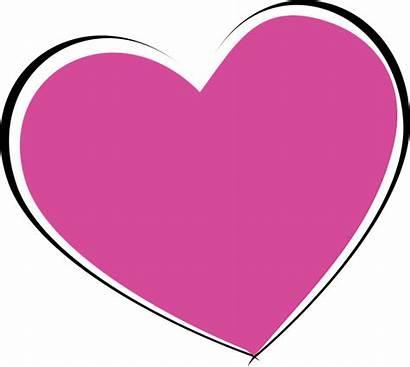 Heart Symbol Shape Valentine Vector Graphic