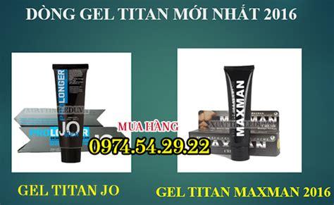 cách sử dụng gel titan hiệu quả nhât