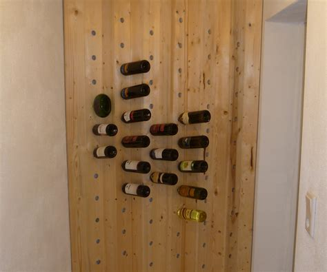 how to make a wine rack in a cabinet easy to build wine rack 5 steps with pictures