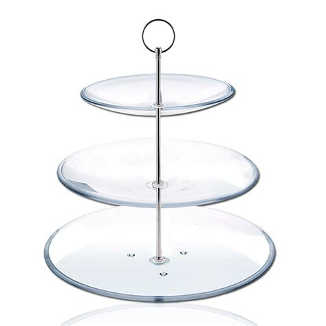 tier plate stand creative home   tier dinner plate rack