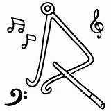 Triangle Coloring Musical Instruments Worksheets Printables Bulkcolor sketch template