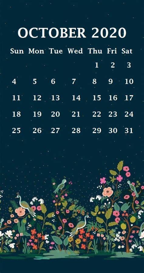 october  calendar wallpapers  wallpapersafari
