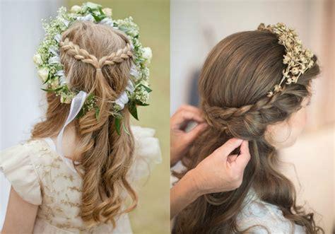 Wedding hairstyles for little girls: 6 cute flower girl