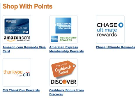 Depending on the card, customers may be able to request their cash back in the form of a check or direct deposit. Using Your Credit Card Points on Amazon