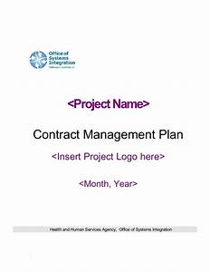 Oil Change Template Contract Management Plan 4156v2