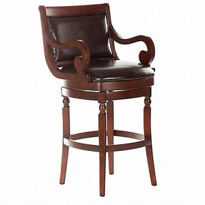 Counter Height Leather Swivel Stools Leather Bar Stools