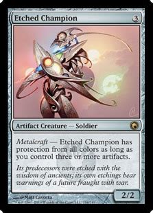 Mtg Chionship Decks 2015 by Etched Chion Scars Of Mirrodin Community Gatherer