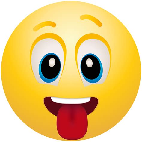 Emoji Clipart Tongue Out Emoticon Emoji Clipart Info