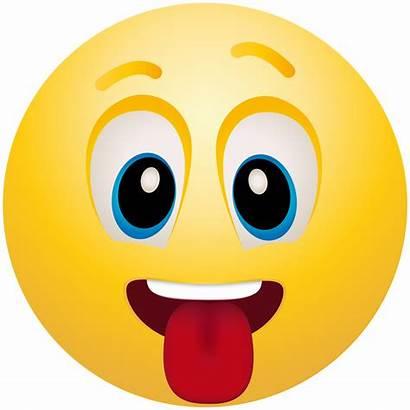 Emoji Clip Clipart Tongue Transparent Emoticon Iphone