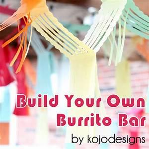 easy summer entertaining- build your own burrito bar