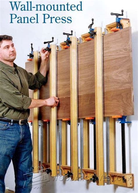 wall mounted panel glue  press woodarchivist