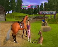 Wii Barbie Horse AdventuresTM: Riding Camp Game - Barbie Horse ...