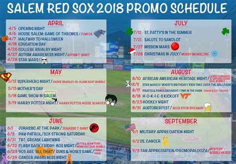 big lots fans on sale red sox unveil 2018 promotional calendar milb com