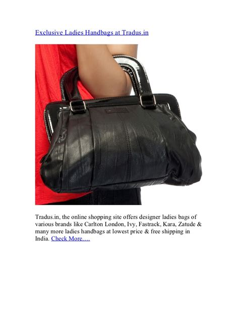 exclusive ladies handbags  tradusin