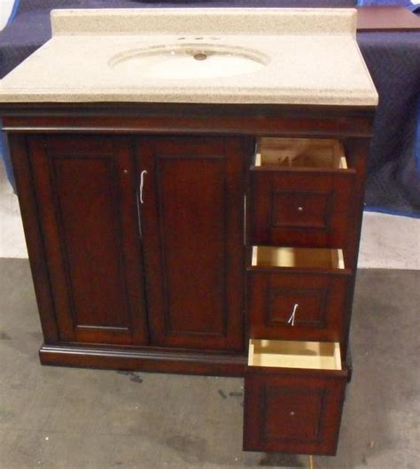 Costco Sink Vanity by Costco Covington 36 Inch Bathroom Vanity Ebay