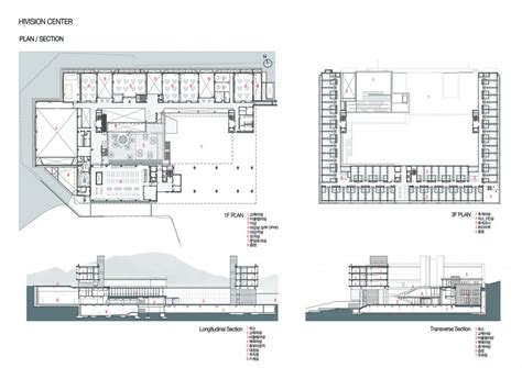 auditorium plan  elevation  section drawings house