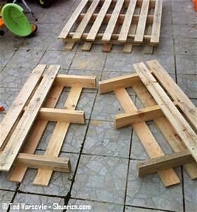 Tuto Salon De Jardin En Palette : bricolage creer du mobilier de jardin avec des palettes ~ Dallasstarsshop.com Idées de Décoration