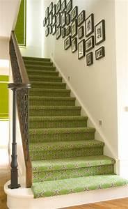 Teppich Für Treppe : 5 ideen f r treppenl ufer und teppiche f r holztreppen ~ Orissabook.com Haus und Dekorationen