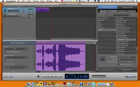 How To Garage Band by How To Autotune In Garageband