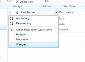 sharepoint building a list specific search with With document library name column
