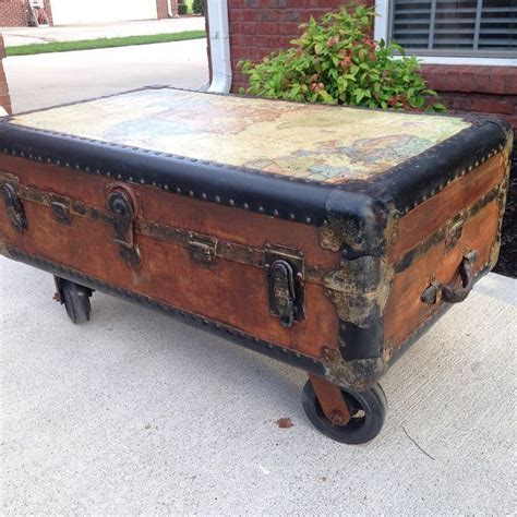5 out of 5 stars. metal steamer trunk coffee table - There is not any such thing because best coffee table, while ...