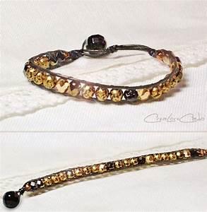 Comment Faire Un Bracelet En Perle : comment faire un bracelet cuir et perle bijoux la mode ~ Melissatoandfro.com Idées de Décoration