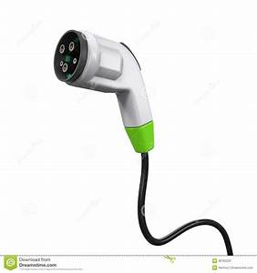 Electric Vehicle Charging Plug Stock Image