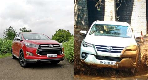 toyota innova crysta  fortuner launched motoroids
