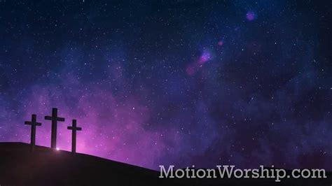 calvary night stars hd looping background  motion