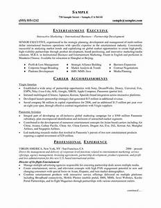 Microsoft Word Resume Template Free Sample Resume Cover