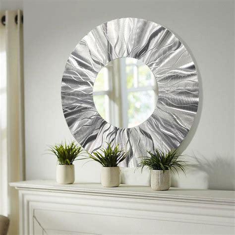 handmade  modern metal wall art contemporary mirror