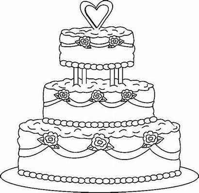 Coloring Pages Cupcake Birthday Happy Cake Cakes