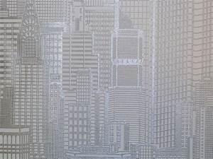 Tapete Auf Tapete Kleben : queens 2013 tapete vlies tapeten 795103 skyline silber ebay ~ Markanthonyermac.com Haus und Dekorationen