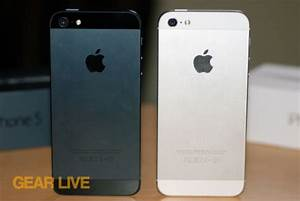 Image Gallery iphone 5 vs 5s black