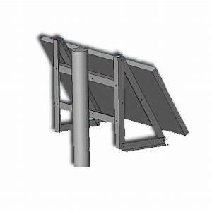 Fixation Panneau Solaire : adaptateur mat pour kit de fixation sxq6002 enix energies ~ Dallasstarsshop.com Idées de Décoration