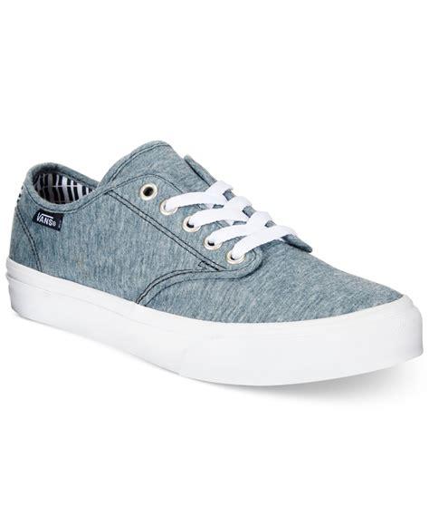 Vans Women's Camden Pinstripe Sneakers in Gray
