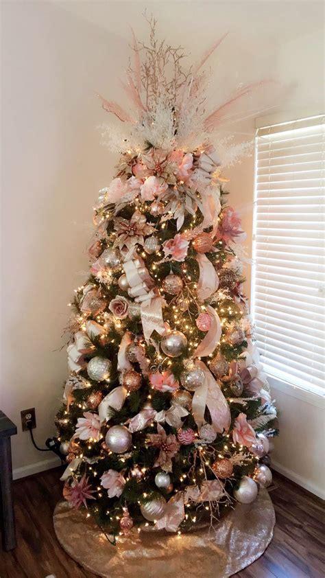 christmas treerosegold tree hrismas rees