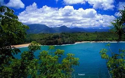 Hawaii Desktop Hawaiian Wallpapers Island Beach Views
