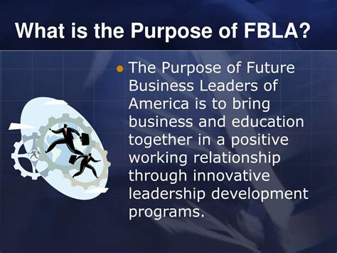ppt future business leaders of america fbla powerpoint