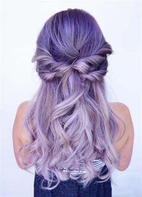 purple hair color styles 50 lovely purple lavender hair colors purple hair 9168