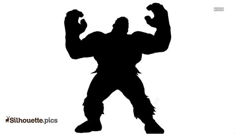 hulk silhouette images