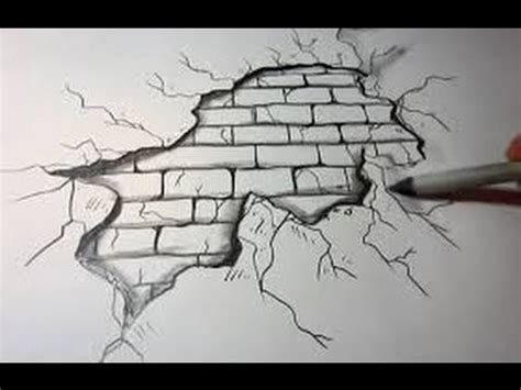 Easy Backgrounds To Draw How To Draw A Brick Wall Background On Paper