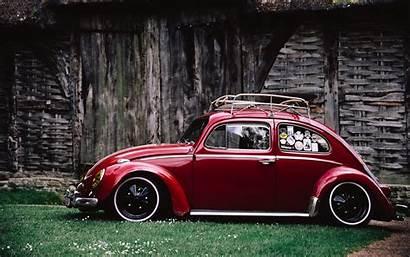 Beetle Side Volkswagen Retro Concept Case Vw