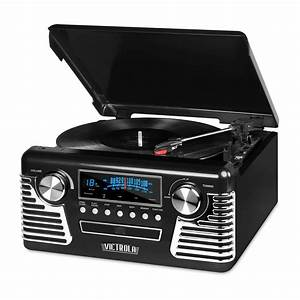 Cd 50 Phone Bluetooth : victrola retro style turntable with bluetooth and cd ~ Kayakingforconservation.com Haus und Dekorationen