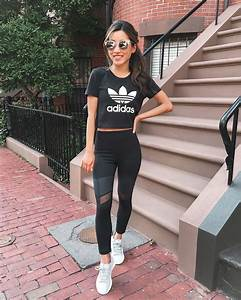 Workout Wear // Adidas sneakers + Zella Leggings (kids vs. womens) - Extra Petite