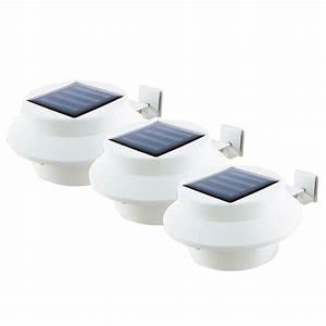 Solar Dachrinnen Leuchten : easymaxx led solar dachrinnen leuchten 3er set hausbeleuchtung sicherheit akku eur 16 99 ~ Eleganceandgraceweddings.com Haus und Dekorationen
