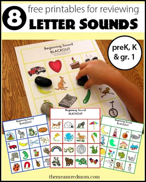 letter sounds for preschoolers review letter sounds with beginning sound blackout 8 free 340