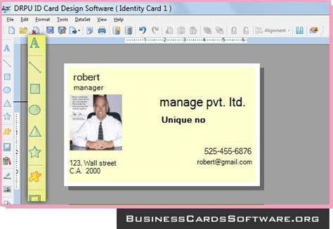 faculty id card template id cards software screenshot x 64 bit