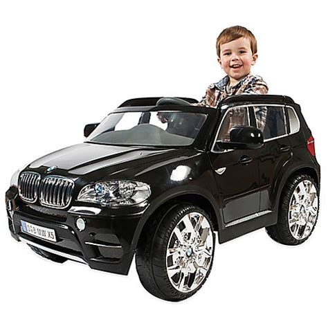 siege auto toys r us bmw x5 ride on in black buybuy baby