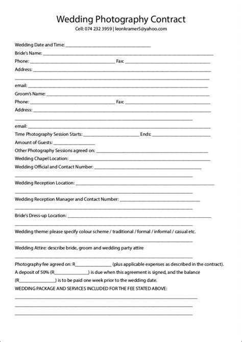 19+ Photography Contract Templates  Sample Templates. Casual Wedding Dresses Cheap. Creative Wedding Ideas Photography. Wedding Locations Colorado. Wedding Hairstyles Down And Wavy. Bulk Wedding Supplies Nz. Wedding Invitation Card Software Download. Plan Your Wedding Pinterest. Wedding Photo Albums Blurb